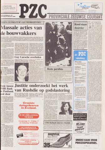 Provinciale Zeeuwse Courant 1989-02-18