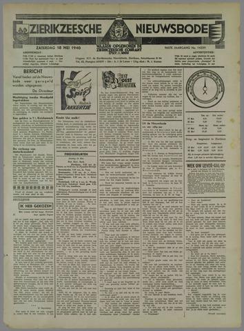 Zierikzeesche Nieuwsbode 1940-05-18