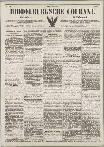 Middelburgsche Courant 1901-02-09