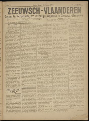 Luctor et Emergo. Antirevolutionair nieuws- en advertentieblad voor Zeeland / Zeeuwsch-Vlaanderen. Orgaan ter verspreiding van de christelijke beginselen in Zeeuwsch-Vlaanderen 1918-01-05