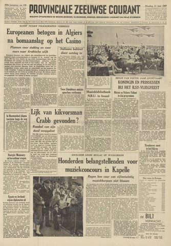 Provinciale Zeeuwse Courant 1957-06-11