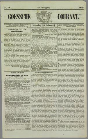 Goessche Courant 1859-02-28