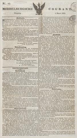 Middelburgsche Courant 1834-03-04