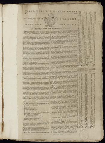 Middelburgsche Courant 1801