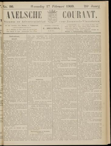 Axelsche Courant 1909-02-17