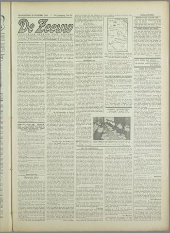 De Zeeuw. Christelijk-historisch nieuwsblad voor Zeeland 1943-01-20
