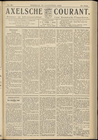 Axelsche Courant 1932-08-16