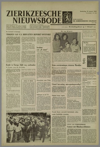 Zierikzeesche Nieuwsbode 1963-01-10