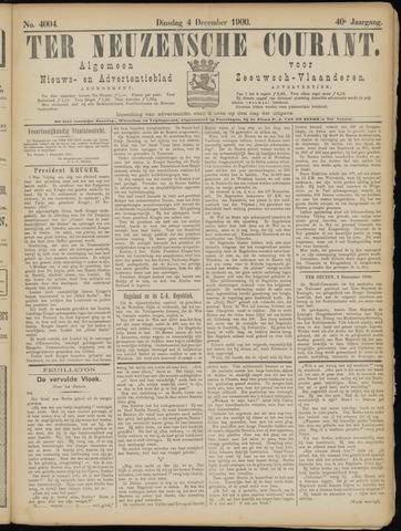Ter Neuzensche Courant. Algemeen Nieuws- en Advertentieblad voor Zeeuwsch-Vlaanderen / Neuzensche Courant ... (idem) / (Algemeen) nieuws en advertentieblad voor Zeeuwsch-Vlaanderen 1900-12-04