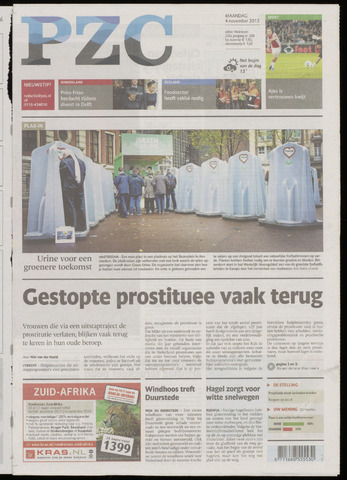 Provinciale Zeeuwse Courant 2013-11-04