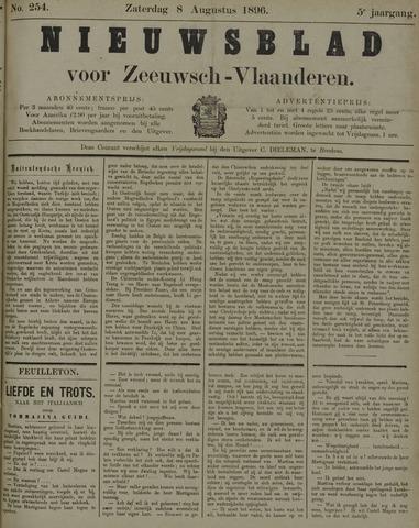 Nieuwsblad voor Zeeuwsch-Vlaanderen 1896-08-08