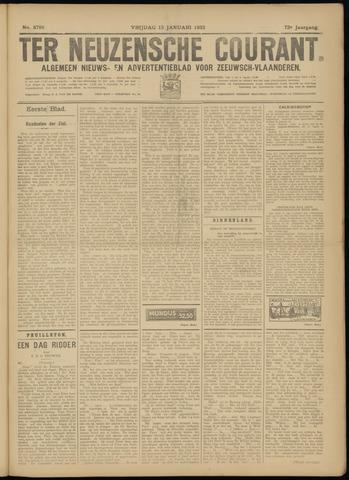 Ter Neuzensche Courant. Algemeen Nieuws- en Advertentieblad voor Zeeuwsch-Vlaanderen / Neuzensche Courant ... (idem) / (Algemeen) nieuws en advertentieblad voor Zeeuwsch-Vlaanderen 1932-01-15