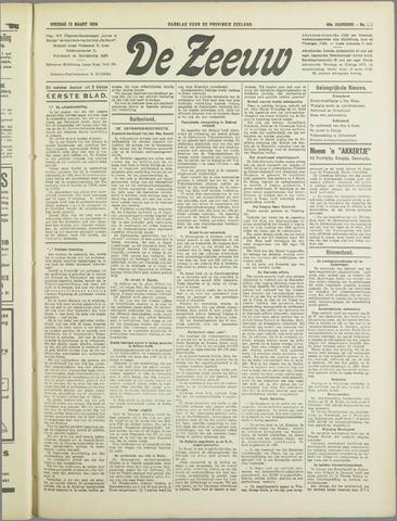 De Zeeuw. Christelijk-historisch nieuwsblad voor Zeeland 1934-03-13