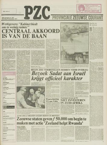 Provinciale Zeeuwse Courant 1977-11-19