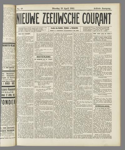 Nieuwe Zeeuwsche Courant 1912-04-23
