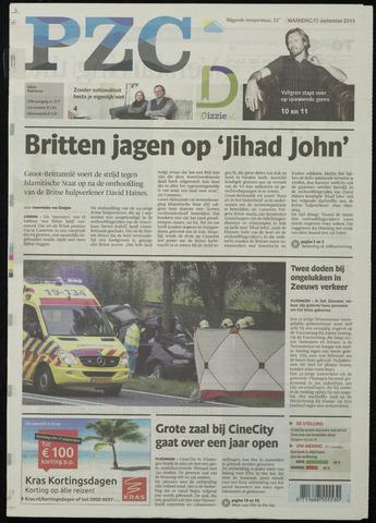 Provinciale Zeeuwse Courant 2014-09-15