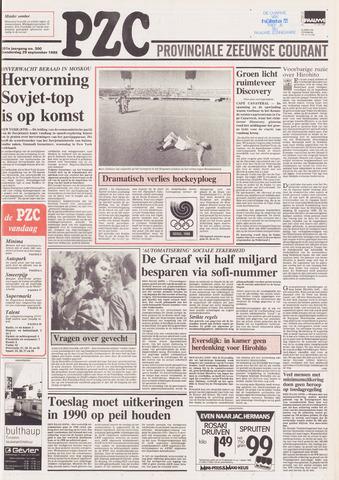 Provinciale Zeeuwse Courant 1988-09-29