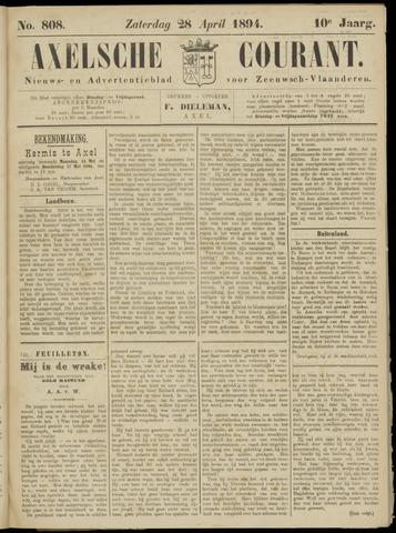Axelsche Courant 1894-04-28