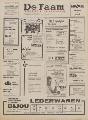 de Faam en de Faam/de Vlissinger 1971-01-14