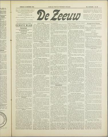 De Zeeuw. Christelijk-historisch nieuwsblad voor Zeeland 1934-12-18