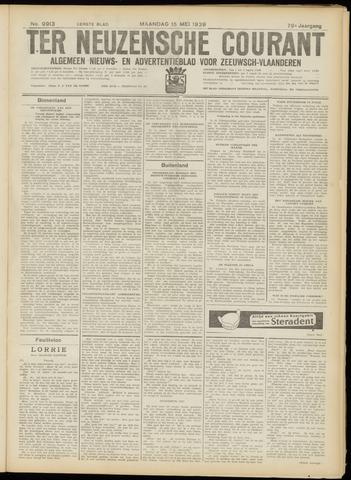Ter Neuzensche Courant. Algemeen Nieuws- en Advertentieblad voor Zeeuwsch-Vlaanderen / Neuzensche Courant ... (idem) / (Algemeen) nieuws en advertentieblad voor Zeeuwsch-Vlaanderen 1939-05-15