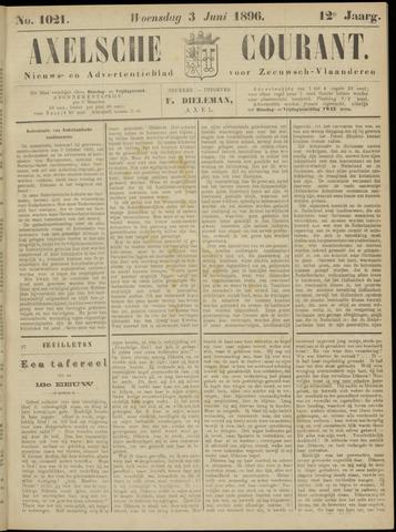 Axelsche Courant 1896-06-03