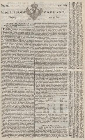 Middelburgsche Courant 1761-06-09