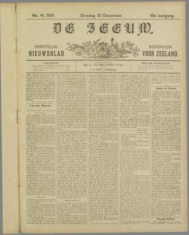 De Zeeuw. Christelijk-historisch nieuwsblad voor Zeeland 1901-12-10