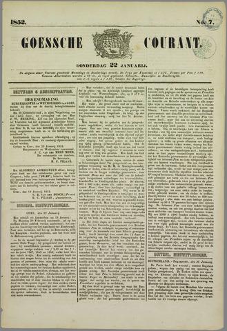 Goessche Courant 1852-01-22