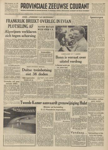 Provinciale Zeeuwse Courant 1961-06-14