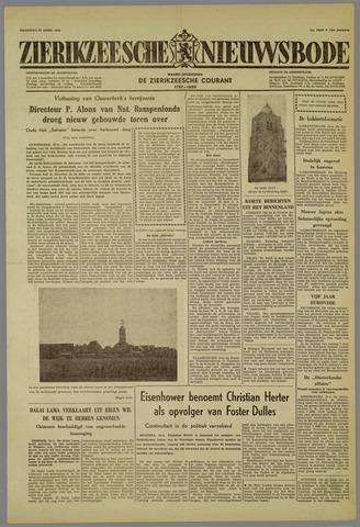 Zierikzeesche Nieuwsbode 1959-04-20