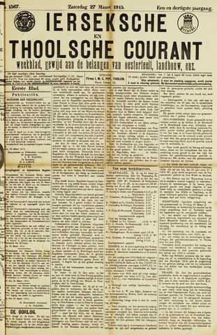 Ierseksche en Thoolsche Courant 1915-03-27