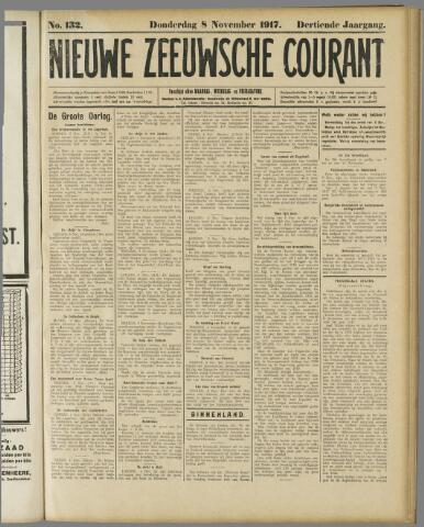 Nieuwe Zeeuwsche Courant 1917-11-08