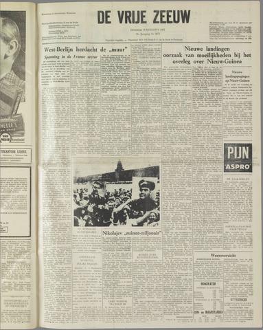 de Vrije Zeeuw 1962-08-14