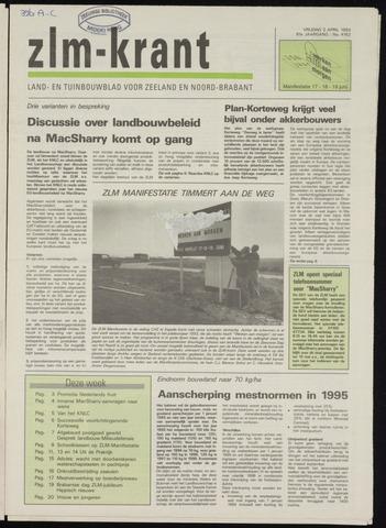 Zeeuwsch landbouwblad ... ZLM land- en tuinbouwblad 1993-04-02