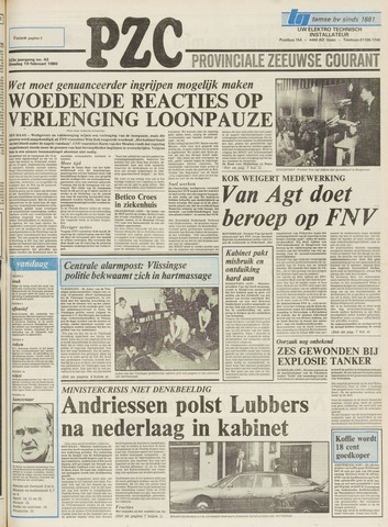 Provinciale Zeeuwse Courant 1980-02-19