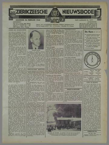 Zierikzeesche Nieuwsbode 1940-02-26