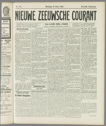 Nieuwe Zeeuwsche Courant 1911-06-27