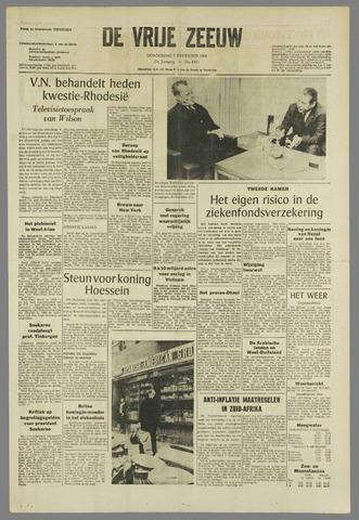 de Vrije Zeeuw 1966-12-08