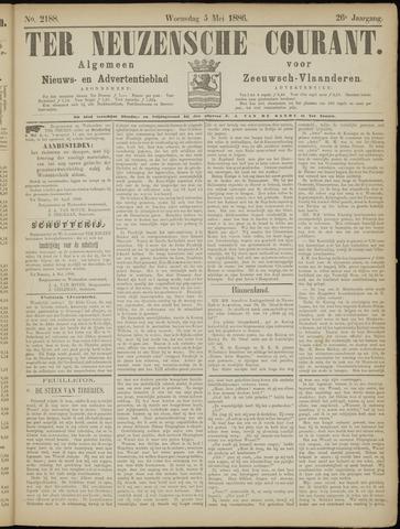 Ter Neuzensche Courant. Algemeen Nieuws- en Advertentieblad voor Zeeuwsch-Vlaanderen / Neuzensche Courant ... (idem) / (Algemeen) nieuws en advertentieblad voor Zeeuwsch-Vlaanderen 1886-05-05