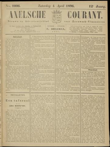 Axelsche Courant 1896-04-04