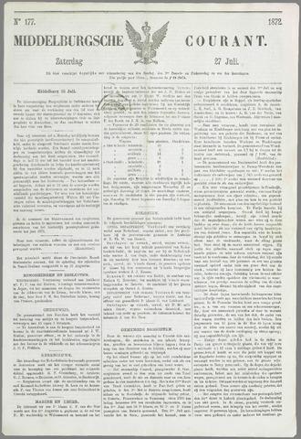 Middelburgsche Courant 1872-07-27