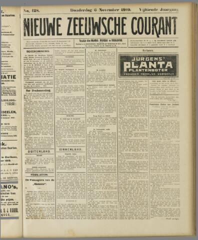 Nieuwe Zeeuwsche Courant 1919-11-06