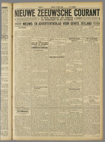 Nieuwe Zeeuwsche Courant 1929-04-30