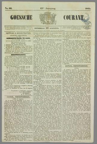Goessche Courant 1855-08-23
