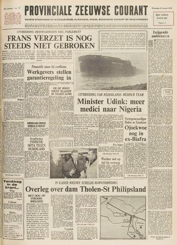 Provinciale Zeeuwse Courant 1970-01-21