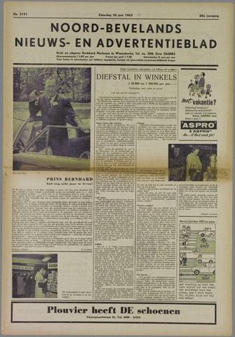 Noord-Bevelands Nieuws- en advertentieblad 1965-06-26
