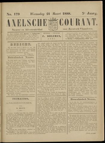 Axelsche Courant 1888-03-21