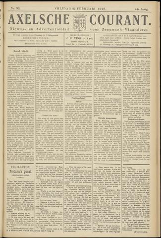 Axelsche Courant 1929-02-22