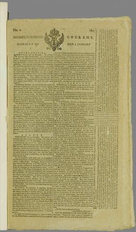 Middelburgsche Courant 1807